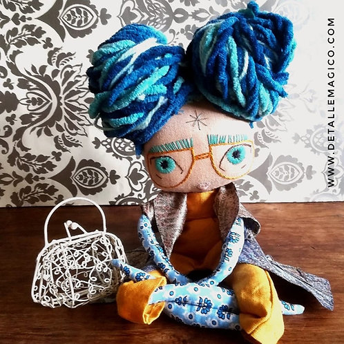 Muñeca | Muñeca de Trapo Articulada - Personalizada