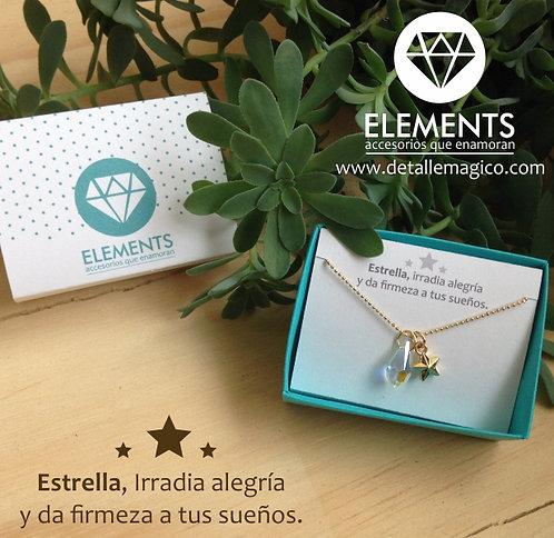 Cadena | Estrella & Cristal