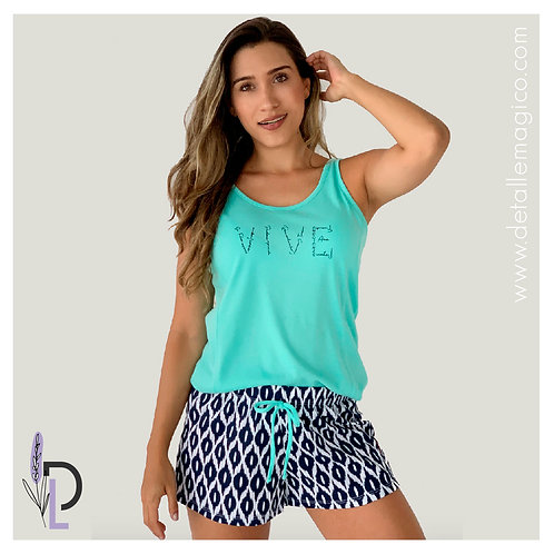 Pijama | Short  Vive