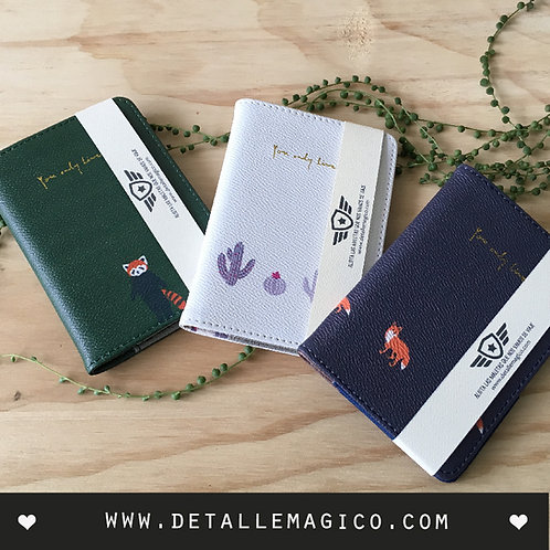 Billetera, Porta documentos, porta pasaportes, Regalos, Detalle Mágico, Viajes, Album aventura