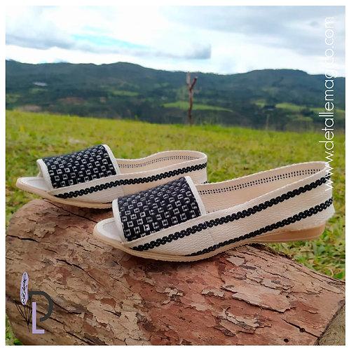 Zapato | Zapato Lona Juanita Cubos
