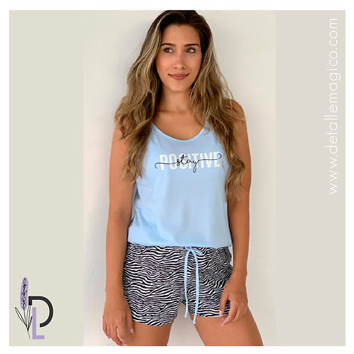 Pijama | Short  Stay Positive