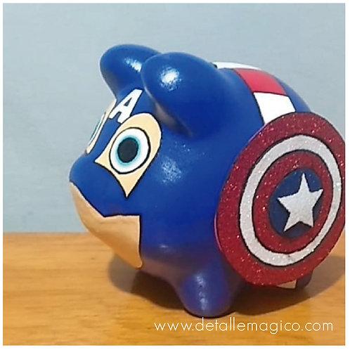 Alcancía | Marranito Capitán América