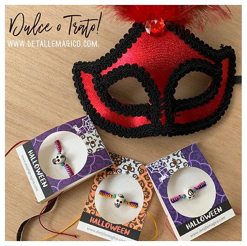 Manillas y Tobilleras Catrinas, Calaberas, Halloween, Accesorios Personalizados, Detalles Cali, Colombia