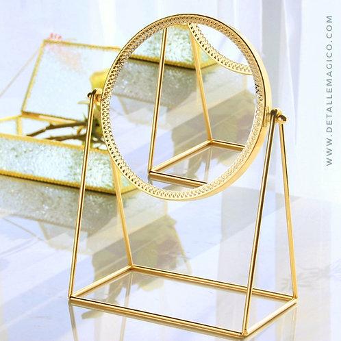 Espejo para maquillaje, espejo de base, decoración hogar, Colombia, regalos originales, Detalle Mágico