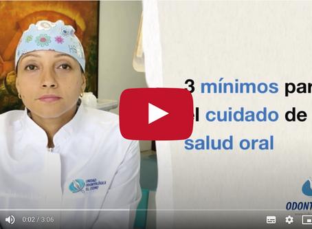 3 Mínimos para el Cuidado de tu Salud Oral