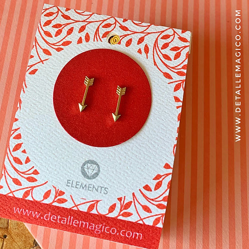 Aretes | Topos Flechas a Cupido
