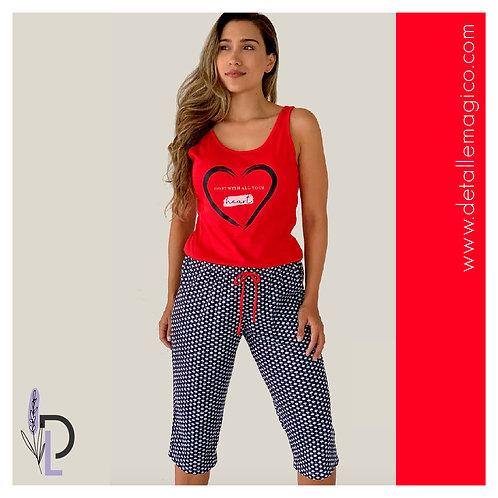 Pijama | Capri Heart
