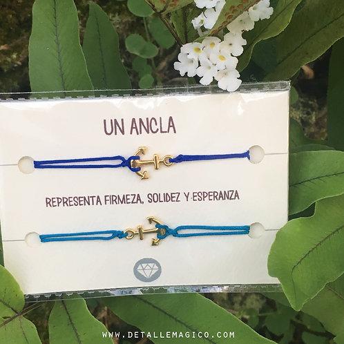Manilla   Un ancla simboliza firmeza