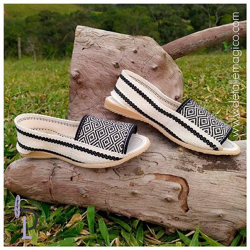 Zapato | Zapato Lona Juanita Rombos