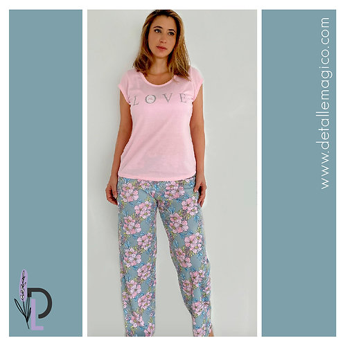 Pijama | Pantalón Largo Love