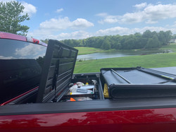 Tonneau Cover With Tool Box Access