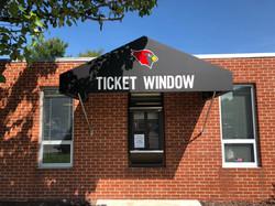 Ticket Window Awning