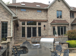 Retractable Awning Rolled Up