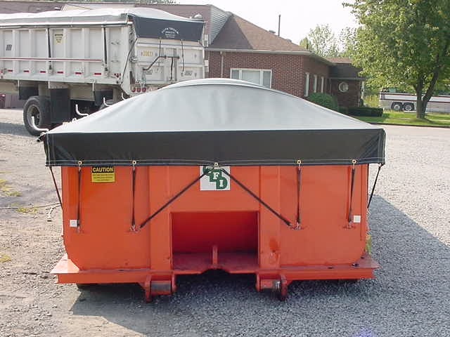 Roll Off Container Tarp