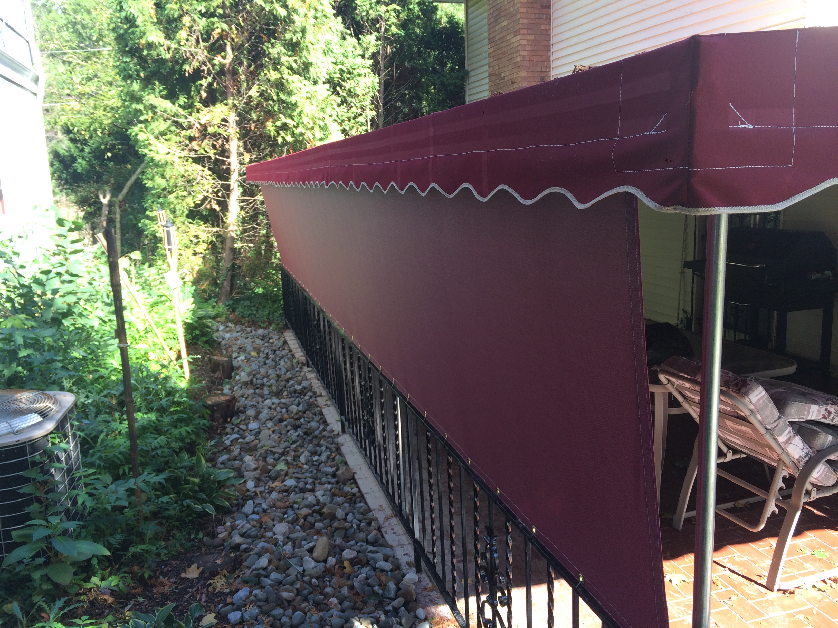 Deck Awning With Screen