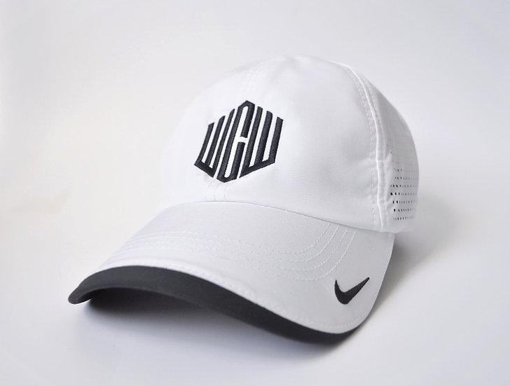 WCW White Nike Baseball Cap