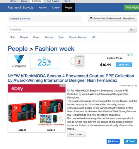 Fashion E-Service