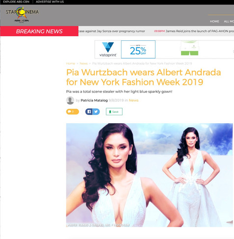StarCinema ABS-CBN NYFW hiTechMODA Season 2
