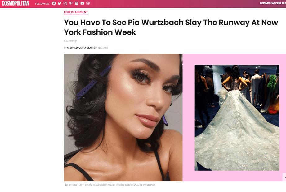 Cosmopolitan NYFW hiTechMODA Season 2