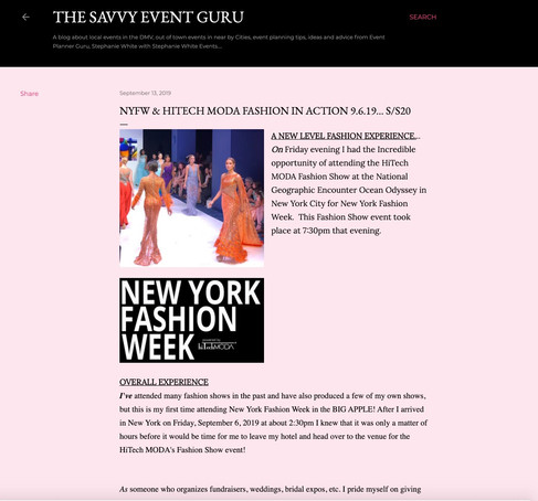 Savvy Event - NYFW hiTechMODA Season 2