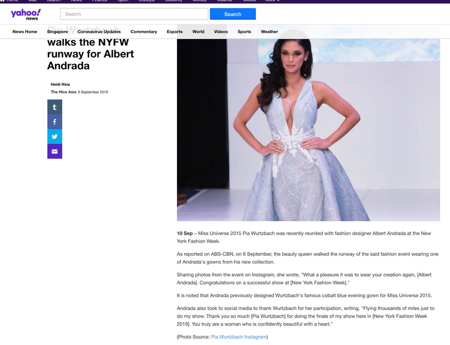 Yahoo News NYFW hiTechMODA Season 2