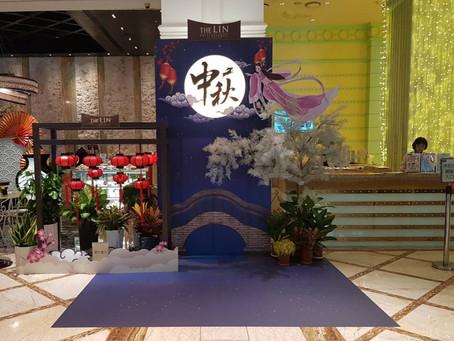 萬視達-台中林酒店-中秋節/七夕背板(節慶佈置)