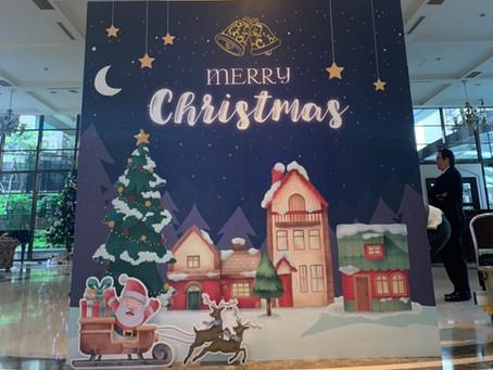 萬視達-台中賽茵斯-聖誕節(節慶佈置)