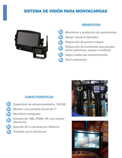 Blue Net - Cámara para Montacargas