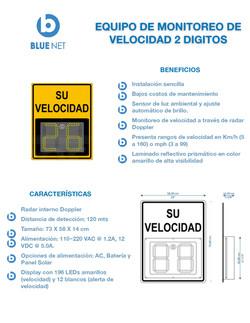 Blue Net - Sistema de Monitoreo de Veloc