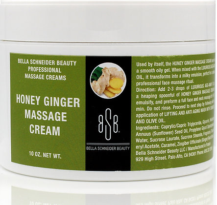 HONEY GINGER MASSAGE CREAM