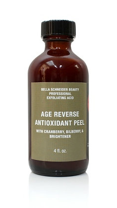 AGE REVERSE ANTIOXIDANT PEEL with Cranberry, Bilberry, & Brightener