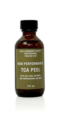 High Performance TCA PEEL 10% with AHA, BHA, Retinol+