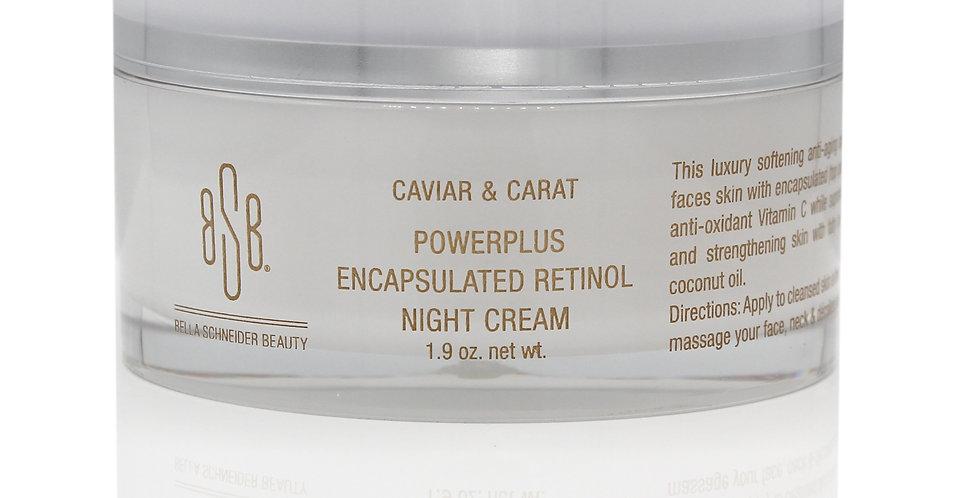 CAVIAR & CARAT POWERPLUS ENCAPSULATED RETINOL NIGHT CREAM