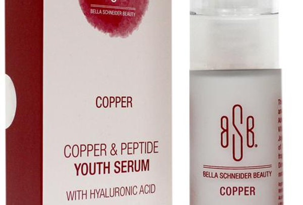 COPPER & PEPTIDE YOUTH SERUM WITH HYALURONIC ACID