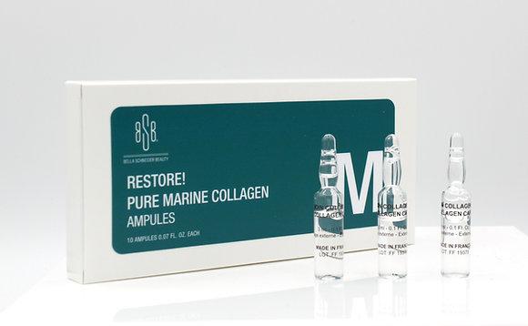 Restore! Pure Marine Collagen ampules