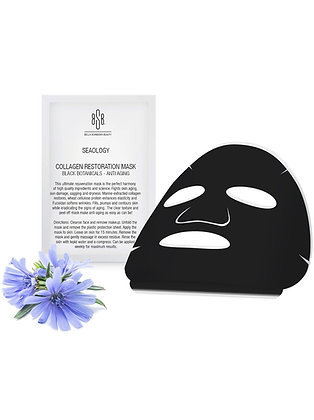 COLLAGEN RESTORATION MASK BLACK BOTANICALS - ANTI AGING (SET OF 3)