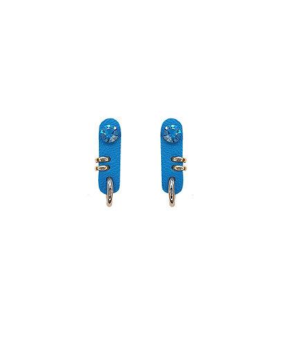 Brinco Pin Azul