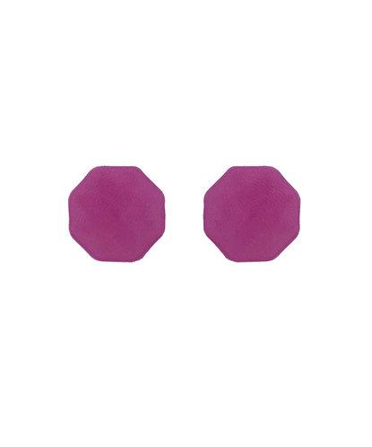 Brinco Ponto Púrpura