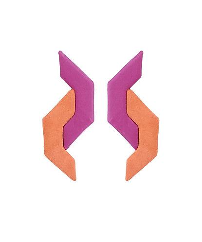 Brinco Z Púrpura