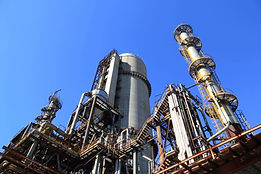 view-of-factory-against-blue-sky-257700