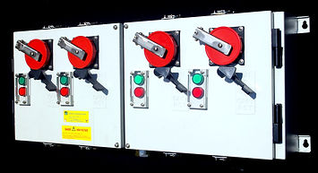 4 Gang Reefer Socket. Multi Gang Reefer Container Socket, Reefer Socket Automation, Reefer Socket with Pilot Lamp