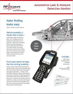 Brochure - Automotive Leak & Moisture De