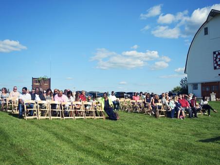 The Owens' Wedding at Wren Farm-Mechanicsburg