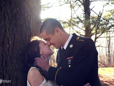 Chris and Kacie's courthouse wedding!