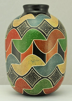 Geometric Multi-colored - MC9A-09
