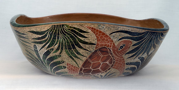Traditional Incised Bowl - LP9-13