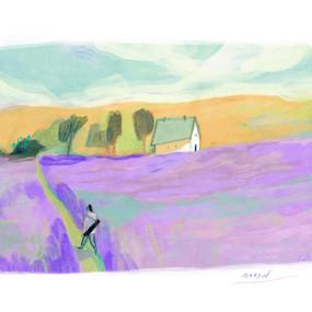 A Purple Field