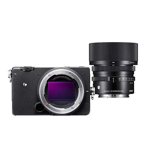 Sigma fp + Sigma 45mm F2,8 DG DN Contemporary Set