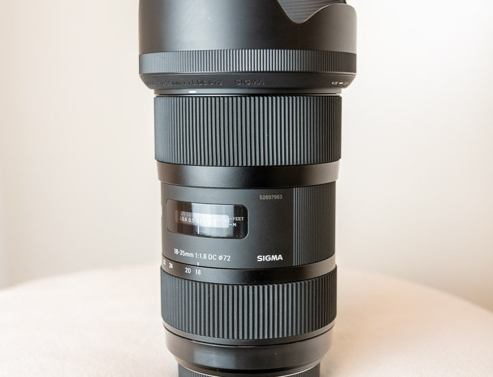 Sigma 18-35mm F1,8 DC HSM Art Sony A-Mount